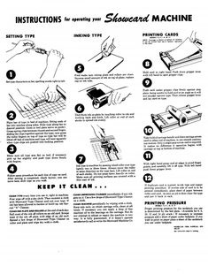 Morgan Line-O-Scribe Operating Instructions for