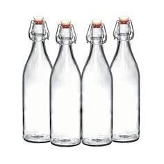This Simple Amazon Kitchen Tool Helps Keep My Tiny Space Clutter-Free #SOdomino #glass #water #bottle #glassbottle