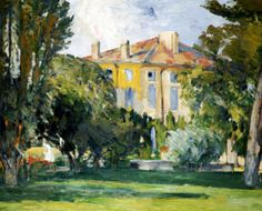 The House At Jas De Bouffan, 1882 Art Print by Paul Cezanne at King & McGaw
