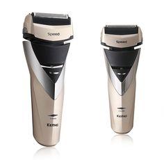 Beard and Mustache Trimmer 3D Waterproof Razors Heads Razor Electric Shavers for men Triple Blade Shaving electric razor shaver
