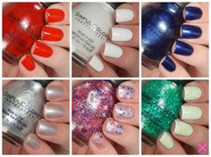 SinfulColors Having A Blast Collection for 4th of July 2015 Swatches & Review | Cosmetic Sanctuary