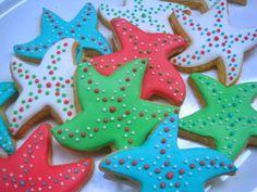 starfish sugar cookies - The Blue Cottage, Tagaytay