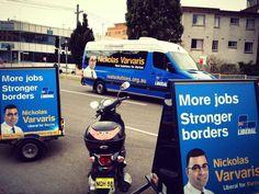 Nickolas Varvaris - Liberal for Barton  More Jobs - Stronger Borders.  www.realsolutions.org.au