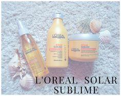 L'Oreal solar sublime | TopicCoffee Loreal, Solar, Shampoo, Bottle, Blog, Flask, Sun