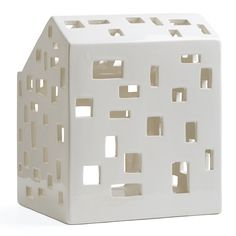 Kahler Urbania Candle House - Ceramic Candle Holder / Lantern - Medium