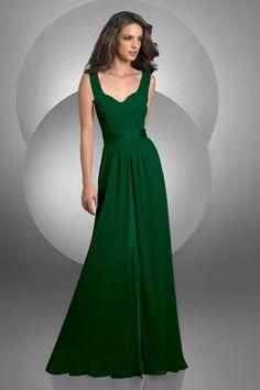 Bridesmaid Dresses Hunter Green 105