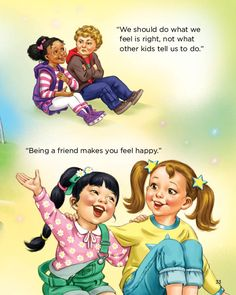 """""""Being a friend makes you feel happy."""" """"Starabella: Welcome to a Bright New World"""" purchase: http://starabella.com/buy-the-books-content/buy-the-books/"""