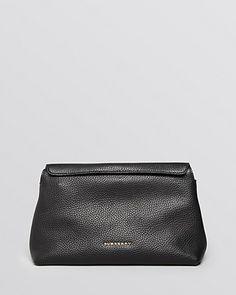 65151f1ccf5b Burberry Ladies London Small Leah Convertible Black Clutch   795.00 Black  Clutch