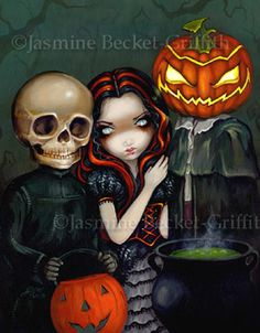 out trick or treating Jasmine Becket-Griffith
