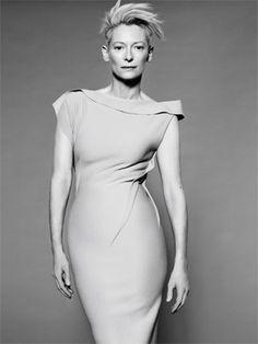 Tilda Swinton: Madrina de los Prix Marie Claire 2011