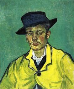 Vincent Van Gogh (1853-1890) Portrait d'Arnaud Roulin (1888)