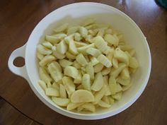 Learning The Frugal Life: Frozen Apple Pie Filling