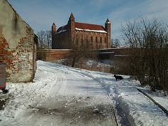 Castle in Gniew, Poland