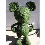 Disney Garden Decor | eBay Image 1 Disney MICKEY MOUSE TOPIARY Garden Statue Yard Decor
