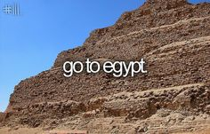 go to egypt [X] i´ve been there two times now - the ocean is amazing!!