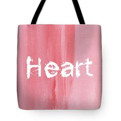 Heart Tote Bag by Kathleen Wong