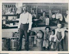Vintage Oklahoma old general store