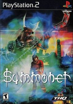 Summoner (Playstation (Pre-Played - Game Only) Play Stations, Juegos Ps2, Game Of The Day, Kings Game, Video Games Funny, Summoning, Aesthetic Videos, Classic Toys, Demons