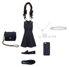 """Clothes aniversário 04/04 2"" by stilys on Polyvore featuring moda, RED Valentino, Melissa, Epoque, Ice, Tory Burch e Chanel"