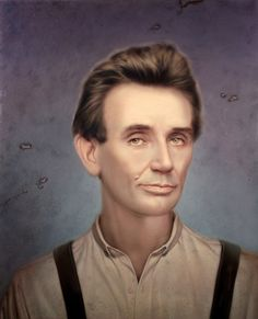 Tim OBrien - Young Lincoln for National Geographic. Greatest Presidents, American Presidents, Us Presidents, American Civil War, American History, American Soldiers, British History, Abraham Lincoln, Mary Todd Lincoln