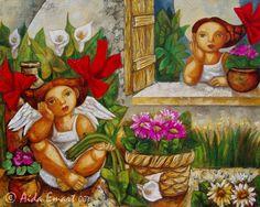 pinturas al oleo de aida emart - Buscar con Google