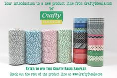 Enter to win this $120 Crafty Basics prize package {Oct. 12-17} on the Create: blog!