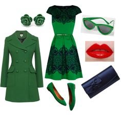 St Patrick's Day outfit by SMC