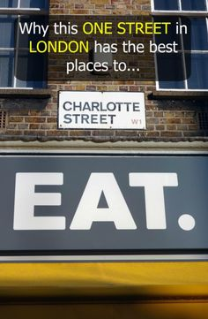 Visiting London and need to know where to find the Best Places to Eat in London? This is a guide to finding everything on one street to satisfy any appetite. Plus it includes tips for visiting London pubs from an American expat living in London married to London Pubs, London Food, London Restaurants, Best Places To Eat, Oh The Places You'll Go, Things To Do In London, London Places To Eat, Where To Eat London, To Infinity And Beyond