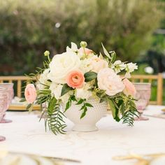 A gorgeous outdoor bubbly and brunch bridal shower in SoCal.