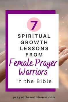 Want to learn from female prayer warriors in the Bible? How to grow spiritually in God- how to grow close to God, how to trust God and how to surrender to God from female prayer warriors in the Bible. Learn more about the women in the Bible here! #womeninministry #womeninthebible #spiritualgrowth #prayerwarrior #prayerwarriors Prayer Quotes, Faith Quotes, Scripture Quotes, Scriptures, Christian Warrior, Christian Women, Christian Life, Spiritual Growth Quotes, Effective Prayer