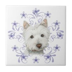 Cute Dogs and Westie's : Christmas Cute Westie Dog Art and Snow ...