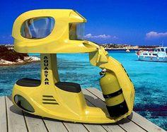 AquaStar2 AS2 Underwater Scooter (Video)