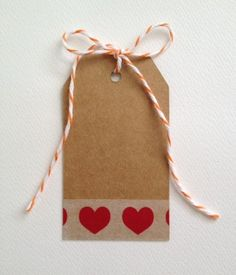 tape or ribbon? Gift TAG Heart Swing Paper Kraft Brown Party Wedding Hens Favour 12 PCS   eBay