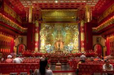 Buddha's tooth relic, Singapore by Wandering Tripod on 500px