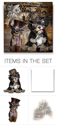 """""""Steampunk Pets! - Contest!"""" by asia-12 ❤ liked on Polyvore featuring art"""