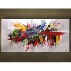 Schilderijen. Zowel modern als abstract. Prachtig met de handgeschilderd. Unieke wanddecoratie.