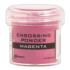 Ranger Embossing Powder, 1-Ounce Jar, Magenta Review