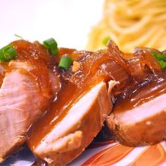 Slow Cooker Teriyaki Pork Tenderloin - Allrecipes.com