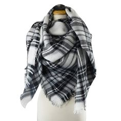 Womens broad Scarf Shawl Multi Colours Comfortable and Warm polycotton