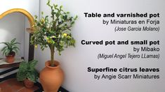 how to: making a miniature lemon tree with a 3D pen - Angie Scarr (part 2)