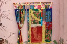 Bohemian curtain panels Boho Curtain-hippie-curtain-gypsy