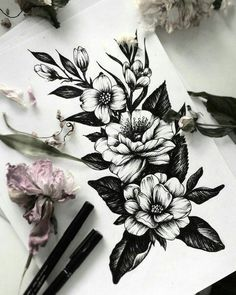 I love tattoos but I don't have any. I plan on getting one in the future, specifically flowers to represent my mom and grandmother. thigh tattoo 55 Sleeve Tattoos That Will Instantly Make You Jealous Tattoos Arm Mann, Body Art Tattoos, Stomach Tattoos, Tatoos, Woman Tattoos, Girl Tattoos, Piercing Tattoo, Hip Piercings, Tattoo Avant Bras