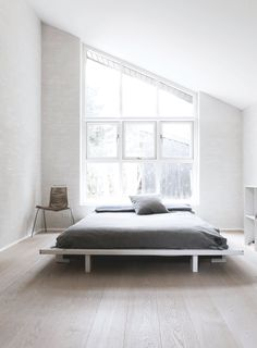Scandinavian bedroom. Fredensborg House by Norm.Architects. Photo by Jonas Bjerre-Poulsen.