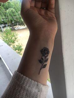 New rose tattoo 💕
