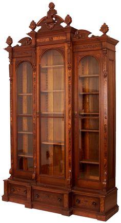 Schlichter Jugendstil Kleiderschrank, Fichte um 1910   Antike Möbel ...