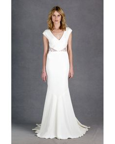 Nicole Miller Kimberly Bridal Gown - New and Unworn - Size 8 - https://www.preownedweddingdresses.com/dresses/view/159160