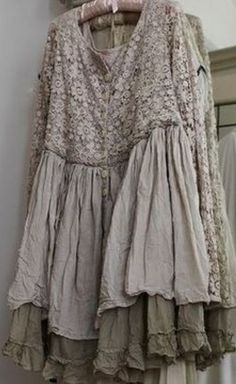 lace and ruffles...