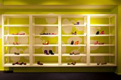 Footwear Showroom Design - Kensiegirl Footwear Store Design | Sergio Mannino