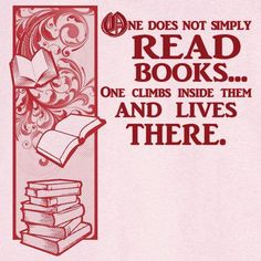 This is true. I live in many books. Right now, I just finished a final book in my series! Yayy! The next book doesn't come out until May, so I'm going to re-read the entire series again. Oh gosh.   But that's just how much I love it.  And I am even writing a new story on fanfiction, its called The Perks Of Being A Book Freak. Lol, great name huh? XD   Anyways, this quote is 1000% true.