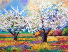 Beautiful paintings « — Welcome To Anand Sharma World — Oil Painting Pictures, Pictures To Paint, Artwork Pictures, Watercolor Trees, Watercolor Paintings, Landscape Art, Landscape Paintings, Bel Art, Inspiration Art